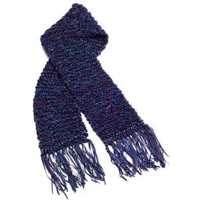 Tie-Dye Knit Scarf from Tulip | FaveCrafts.com