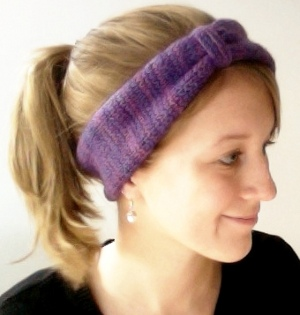 Knitting Pattern Easy Headband Ear Warmer | 3 Sizes Baby to