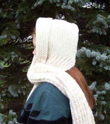 how to knit cables + free cowl neck scarf knitting pattern.mov