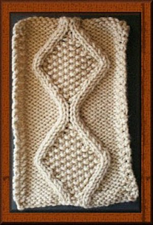 Knitting Irish Stitches : Irish Trace Cable Stitch Pattern FaveCrafts.com