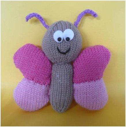 Knitting Pattern For Butterfly : free Free FREEEEEE! Free patterns! - We Love Amigurumi