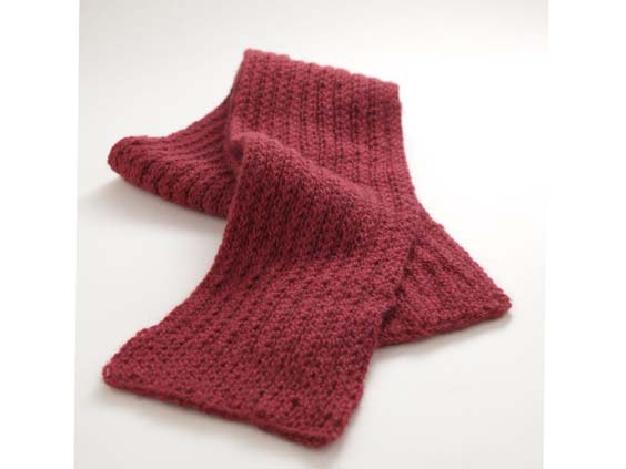 free knitting pattern scarf easy