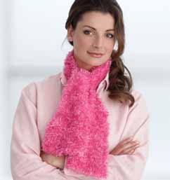 Free Crochet Pattern For Boa Scarf : Bernat Boa Scarf submited images.