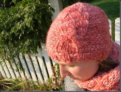 Sugar Twist Knit Hat
