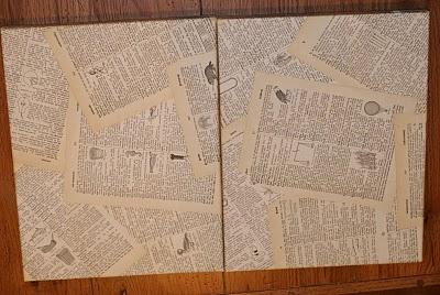 Vintage Paper Canvas