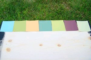 Mosaic of Paint Chips 4