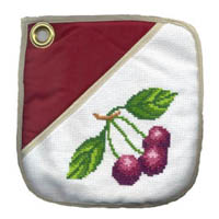 Cherries Oven Pad