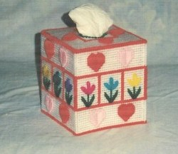 Lazy Daisy Tissue Box