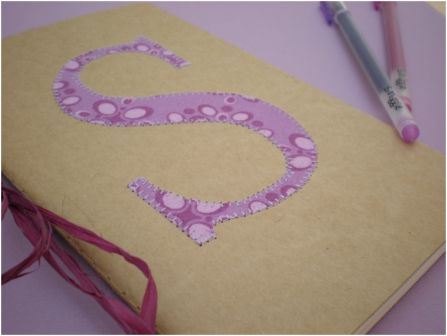 Custom Initial Teen Notebook