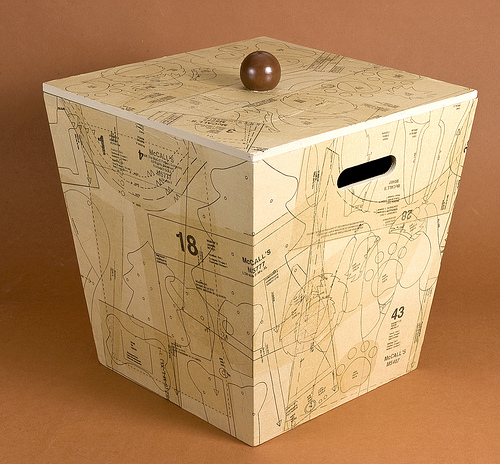 decoupage storage box