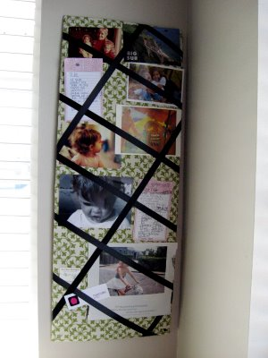 DIY Inspiration Board Finished