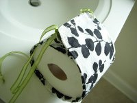 Pretty Toilet Paper Caddy