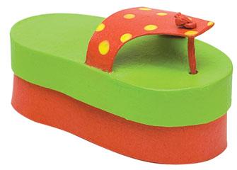 Summer Flip Flop Box