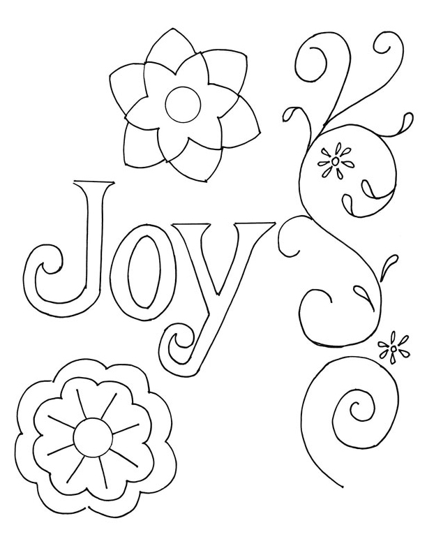 Flower Pattern To Trace From pattern, trace joy and