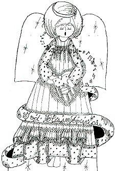 Crochet Memories - Crochet Yarn Angel Patterns - Crochet