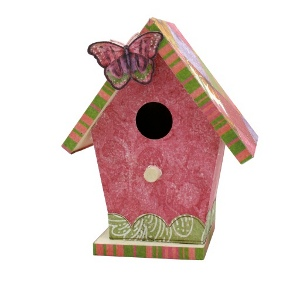 Whimsical Butterfly Birdhouse