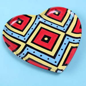 Colorful Tribal Plate