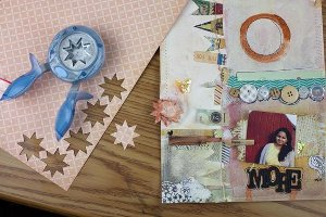 Be More Scrapbook Layout