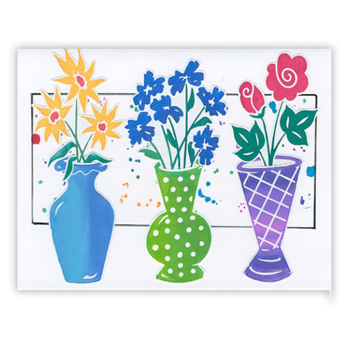 Blooming Spring Flowers Card 3