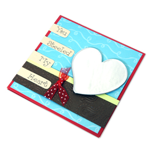 Steel Heart Card for Dad