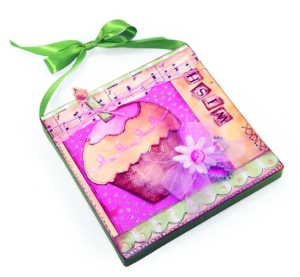 Cupcake Wish Canvas