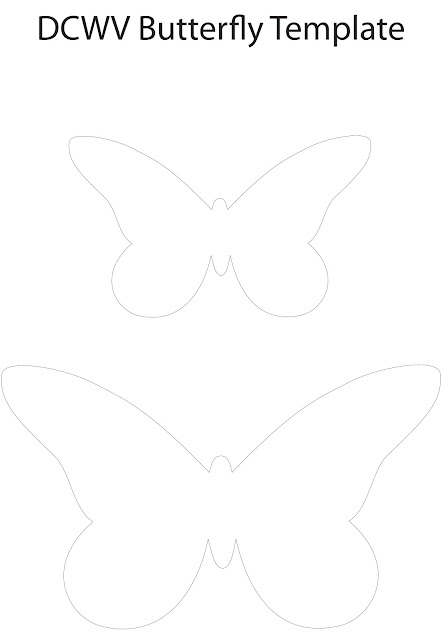 Wreath template cut out new calendar template site for Butterfly paper cut out template