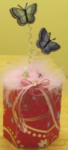 Flowers and Butterflies Box