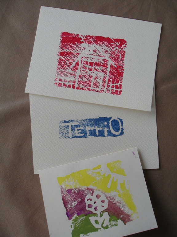 Foam Stamp Cards