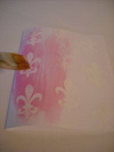 French Quarter Note Card Colorwash