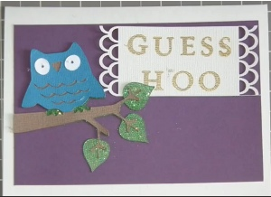 Guess Hoo Card
