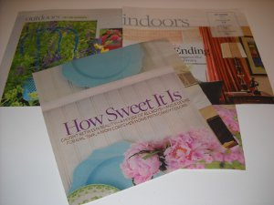 Repurposed Magazine Gift Bags Magazine Ads