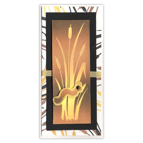 Cattail Stamp Card