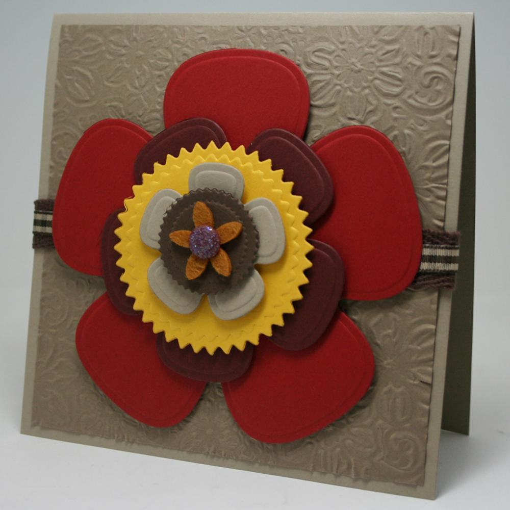 Handmade Paper Greeting Card