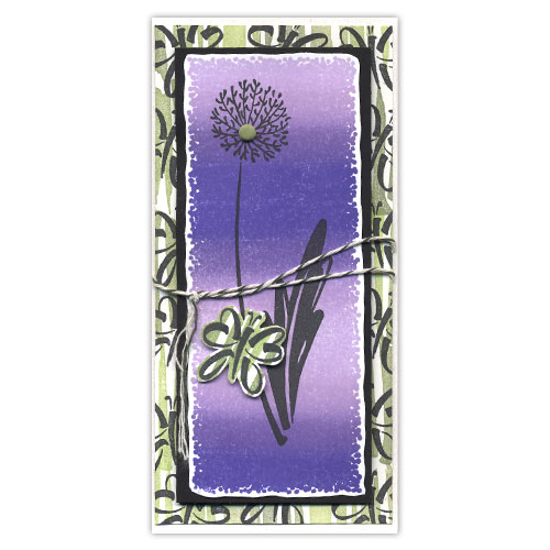 Flower with Butterfly Card