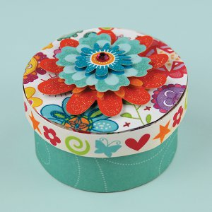 Mini Bloom Organizer Box