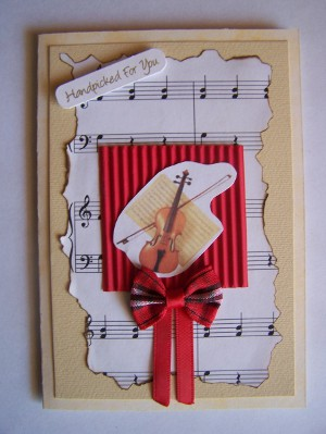 Music Lovers Card