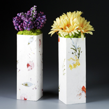 Papercrafted Decorative Vase