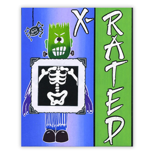 Halloween Skeleton Card 2