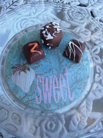 Sweet Treat Party Plate
