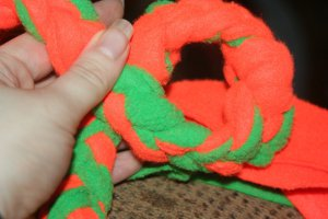 fleece tug rope
