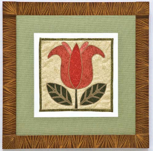 Dutch Flower Quilt Block