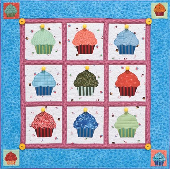 Cupcakes Quilt
