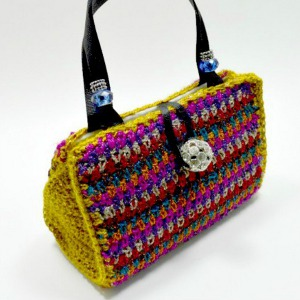 Quirky Crochet Handbag