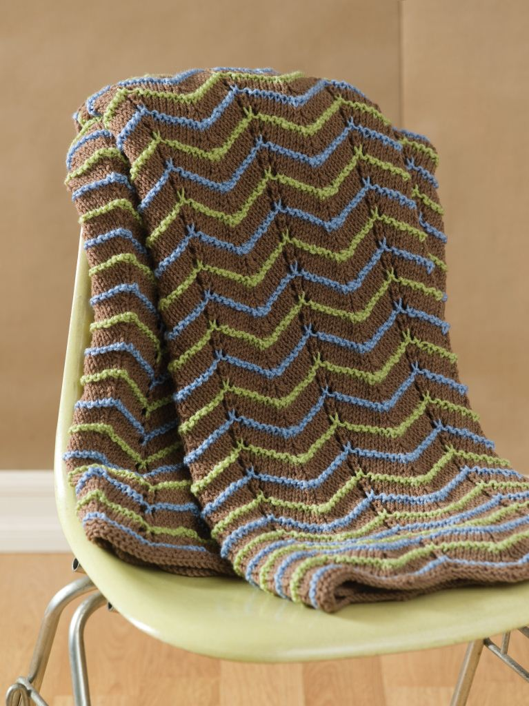 Beginner Knitting Afghan Patterns : Knitting Pattern Central: 614 Cool Knitting Patterns FaveCrafts.com