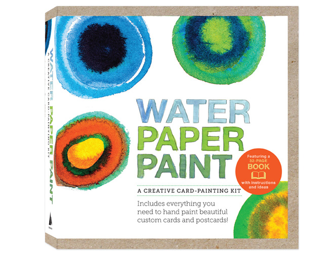 Water Paper Paint Kit