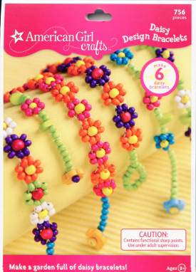 American Girl Daisy Design Bracelet Kit