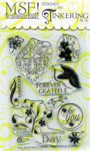 Forever Grateful Clear Stamp Set