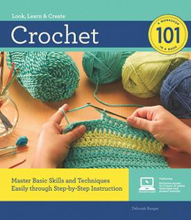 look, learn, create crochet