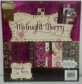 Midnight Berry Stack