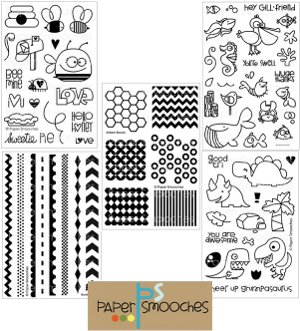 Paper Smooches Stamp Collection